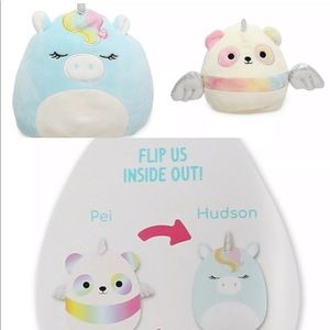SOLD OUT! NWT Unicorn flip-a-mallow Squishmallow